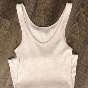 ⭐️ 5/$30 soft cotton oatmeal tank
